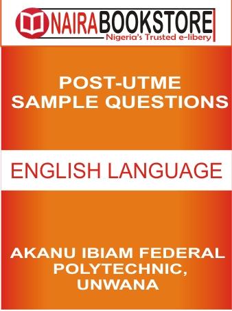 AKANU ENGLISH