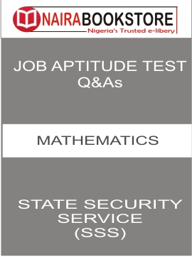 Download State Security Service Past question /Answers