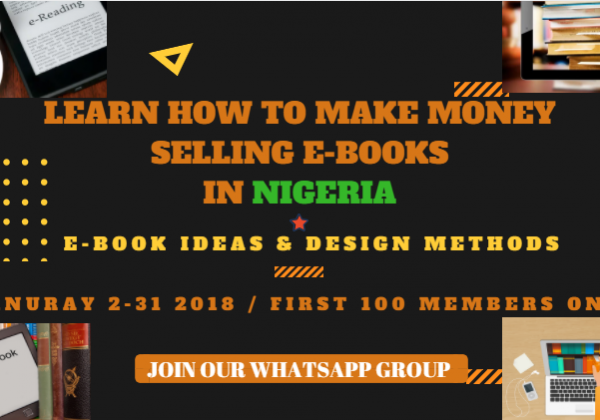 learn how to make money selling e books in nigeria